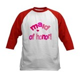 Pink Kiss Maid of Honor Tee