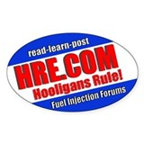 HRE.COM Contest Decal