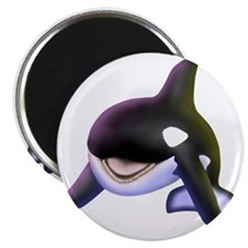 "Killer Whale 2.25"" Magnet (100 pack)"