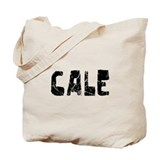 Cale Faded (Black) Tote Bag