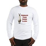 Embrace Your Inner Llama Long Sleeve T-Shirt