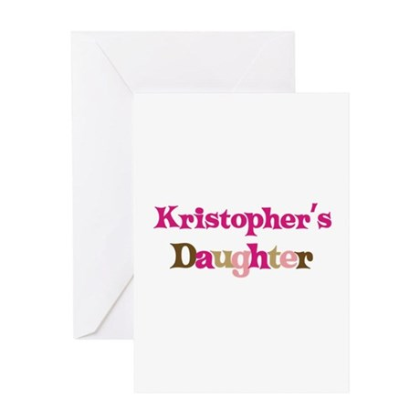 Kristopher's Dad Greeting Card