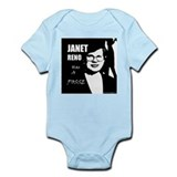 Janet Reno has a Posse Infant Creeper