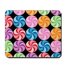 Swirly Candies Mousepad