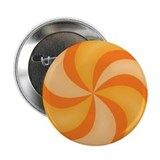 "Orange Swirly Candy 2.25"" Button"