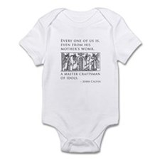 John Calvin Idol Craftsman from birth Infant Bodys