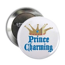"Prince Charming 2.25"" Button (10 pack)"