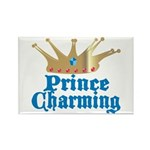 Prince Charming Rectangle Magnet (100 pack)