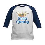 Prince Charming Kids Baseball Jersey