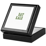 Eat Kale Keepsake Box