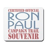 Official Ron Paul Campaign Souvenir Mousepad