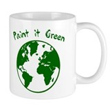 paint it green Small Mug