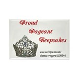 Pageant Pride Rectangle Magnet