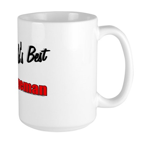 &quot;The World's Best Garbageman&quot; Large Mug