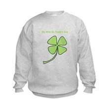 1st St Patty's Day Sweatshirt