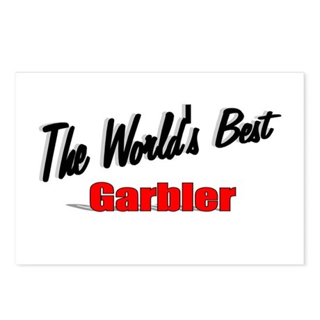 """The World's Best Garbler"" Postcards (Package of 8"
