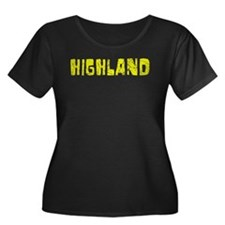 Highland Faded (Gold) T