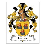 Lampe Family Crest Small Poster
