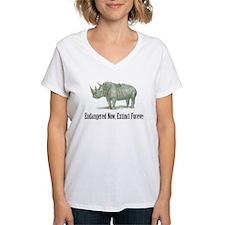endangered rhinoceros Shirt