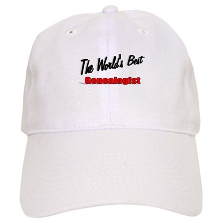 """The World's Best Genealogist"" Cap"