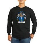 Kuder Family Crest Long Sleeve Dark T-Shirt