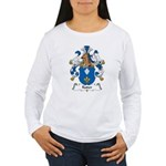 Kuder Family Crest Women's Long Sleeve T-Shirt