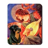 Mandolin Angel /Rottweiler Mousepad