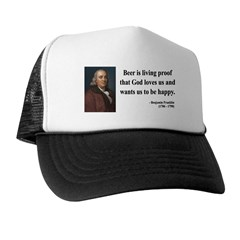 Benjamin Franklin 8 Trucker Hat