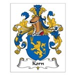 Korn Family Crest Small Poster