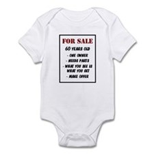 For Sale 60 Years Old Infant Bodysuit