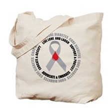 Diabetes Awareness Tote Bag