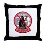 DEA Redrum Throw Pillow