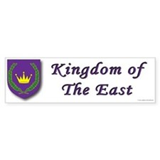 Kingdom of the East Bumper Bumper Sticker