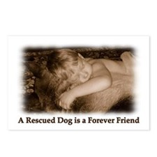Dog Rescue Postcards (Package of 8)