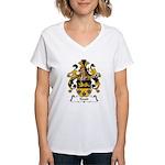Knott Family Crest Women's V-Neck T-Shirt