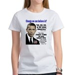 Obama Associations Women's T-Shirt