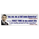Obama Associations Bumper Sticker
