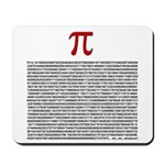 Pi = 3.1415926535897932384626 Mousepad