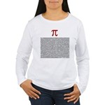 Pi = 3.1415926535897932384626 Women's Long Sleeve