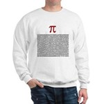 Pi = 3.1415926535897932384626 Sweatshirt