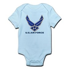 USAF 3 Diamond Symbol Onesie