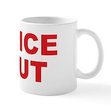 """Office gag gift """"Office Slut"""" mug"""