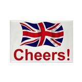 British Cheers! Rectangle Magnet