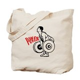 Powerlifting Tote Bag