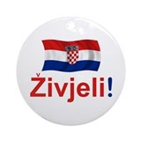 Croatian Zivjeli Ornament (Round)