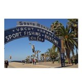 Santa Monica Pier Postcards (Package of 8)