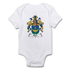 Kaser Family Crest Infant Bodysuit
