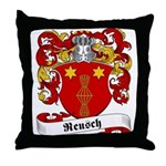 Reusch Family Crest Throw Pillow