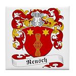 Reusch Family Crest Tile Coaster