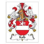 Kalb Family Crest Small Poster
